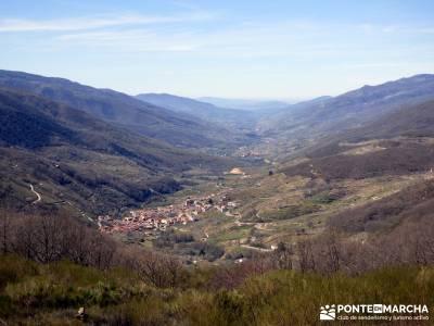 Cerezos en flor en el Valle del Jerte - Mirador Valle del Jerte - Tornavacas;grandes rutas senderism